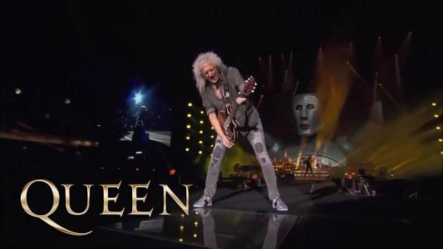 皇后乐队Queen联手嘉宾主唱当爷Adam Lambert最新现场