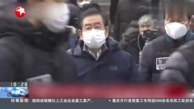 """韩国政府呼吁暂停聚集活动,首尔不顾禁令,市长""""劝返""""反遭辱骂"""