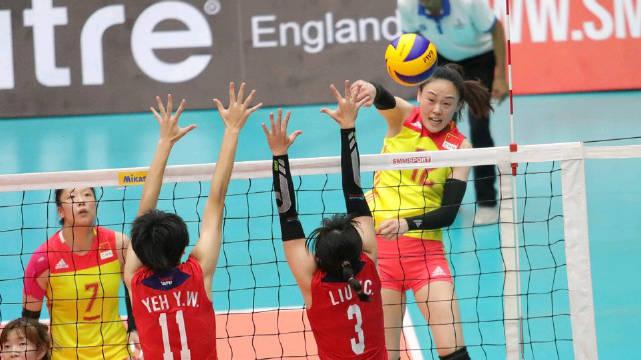 20190713 U23女排亚青赛 中国女排vs中国台北女排 吴晗比赛锦集