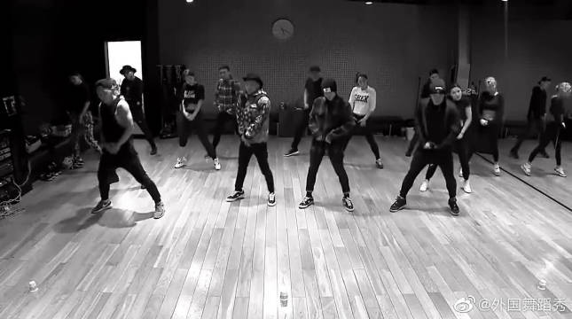 韩国男团BIGBANG,舞蹈室跳《Good Boy》超燃!实在太帅了!