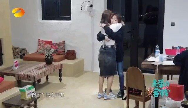刘涛哭了,想给涛姐抱抱!