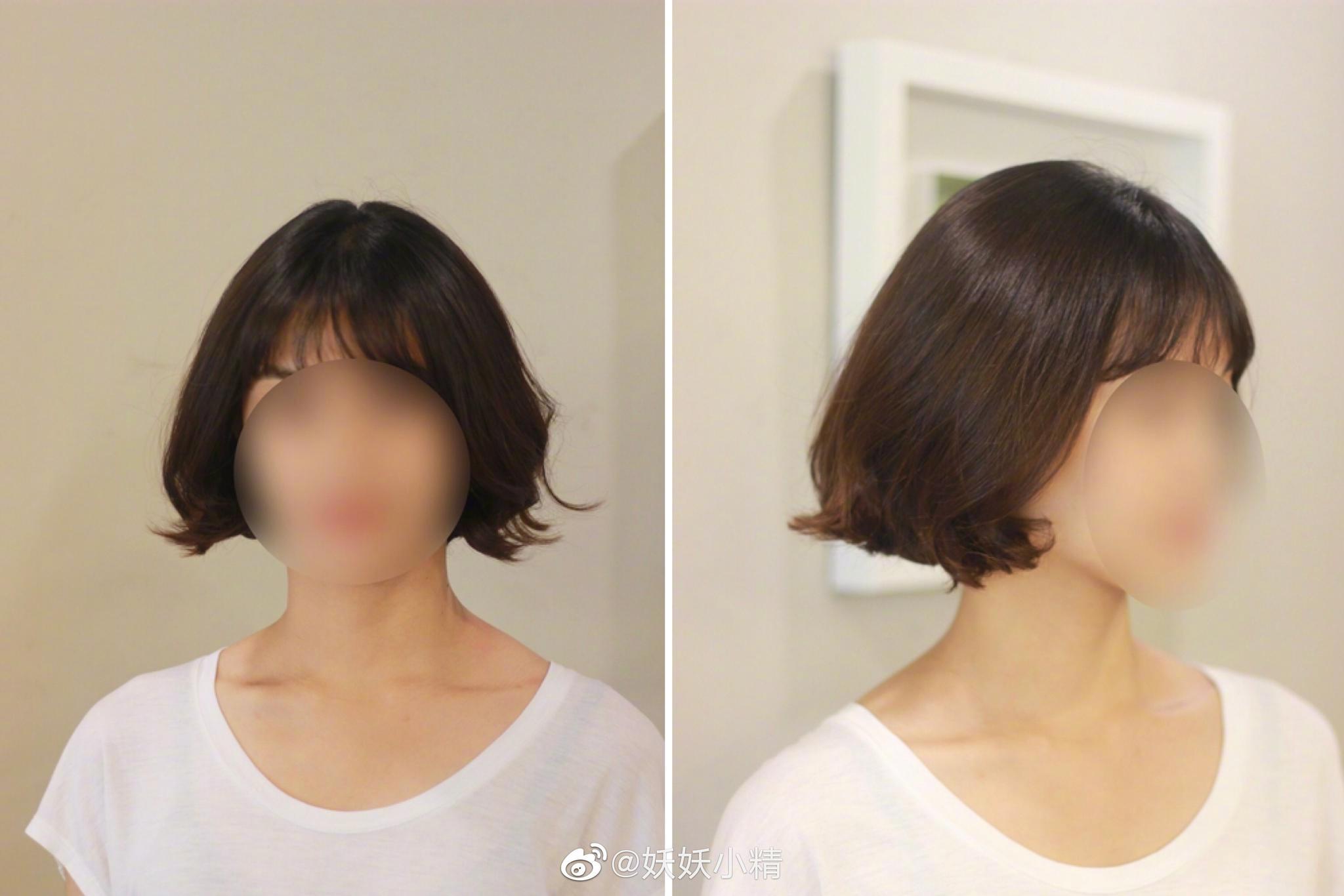 我收藏的几个能够修饰高颧骨的发型图片基本上就是用卷发的弧度来弱