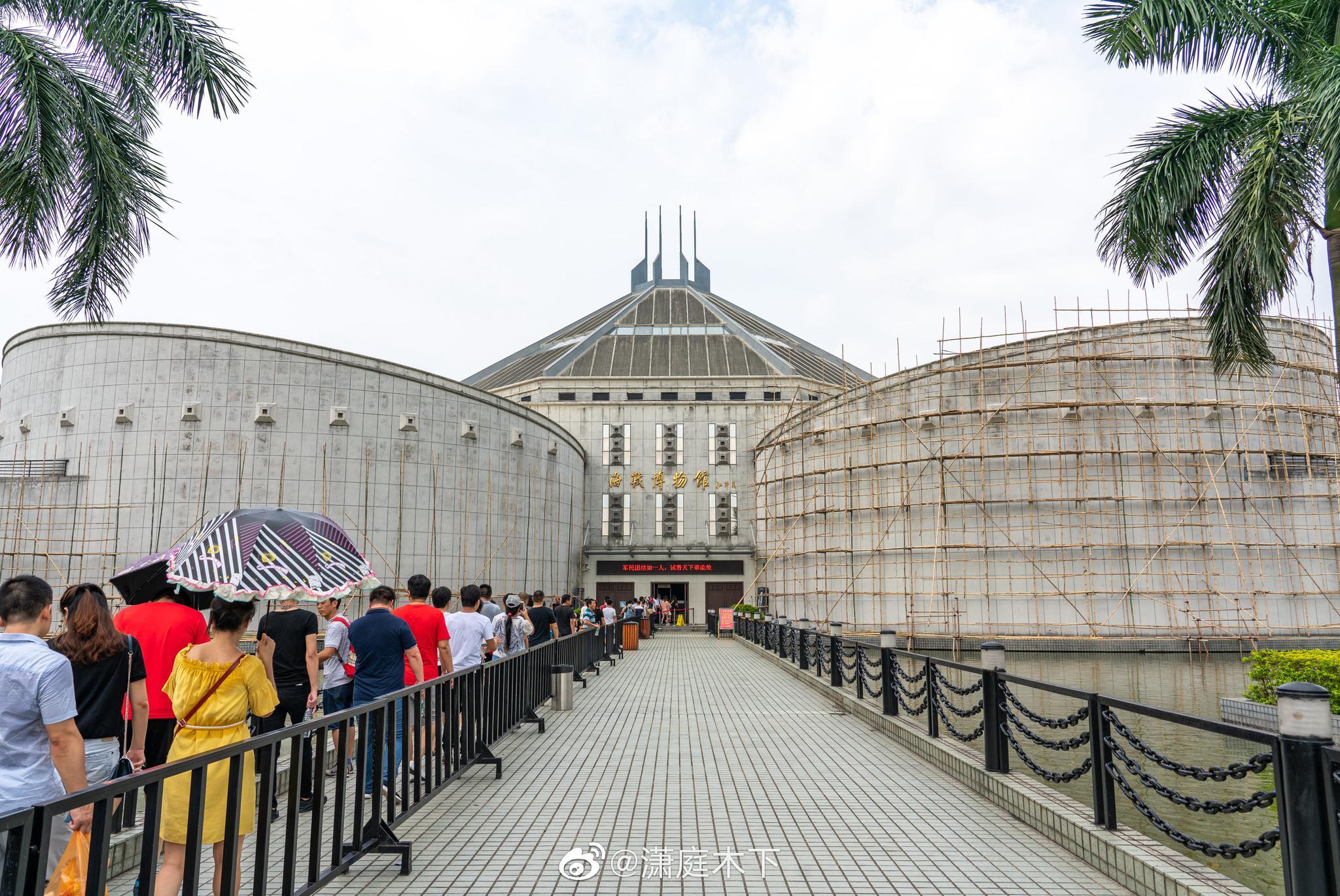 虎门海战博物馆。由 索尼α7R3 & FE 24-105mm F4 G 拍摄。