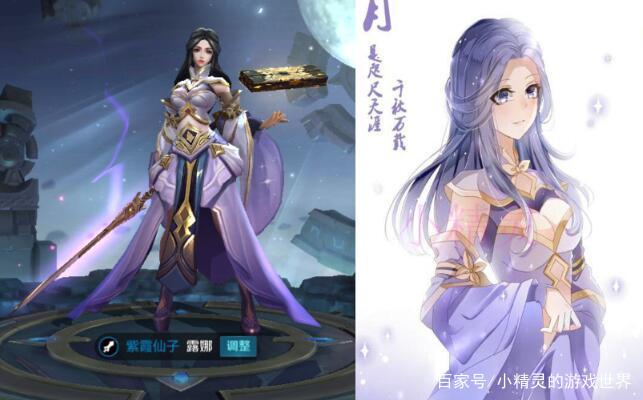王者榮耀:玩家手繪風花雪月四英雄,貂蟬很漂亮,虞姬很
