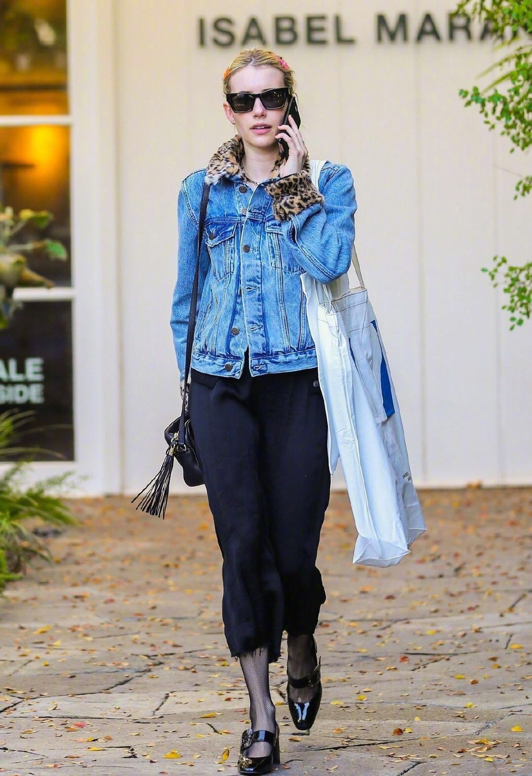 Emma Roberts街拍合集 - 身高不到160cm的她堪称小个子穿衣典范☁️☁