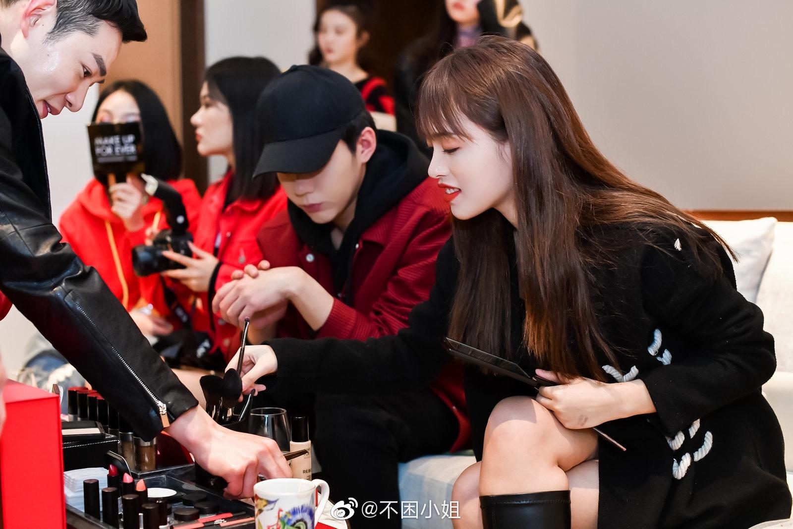 感谢@MakeUpForEver中国 的邀请超认真的听了muf的新年限定彩妆