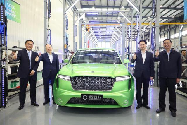 格罗夫氢能汽车续航超1000km,能引领国产新能源造车弯道超车?
