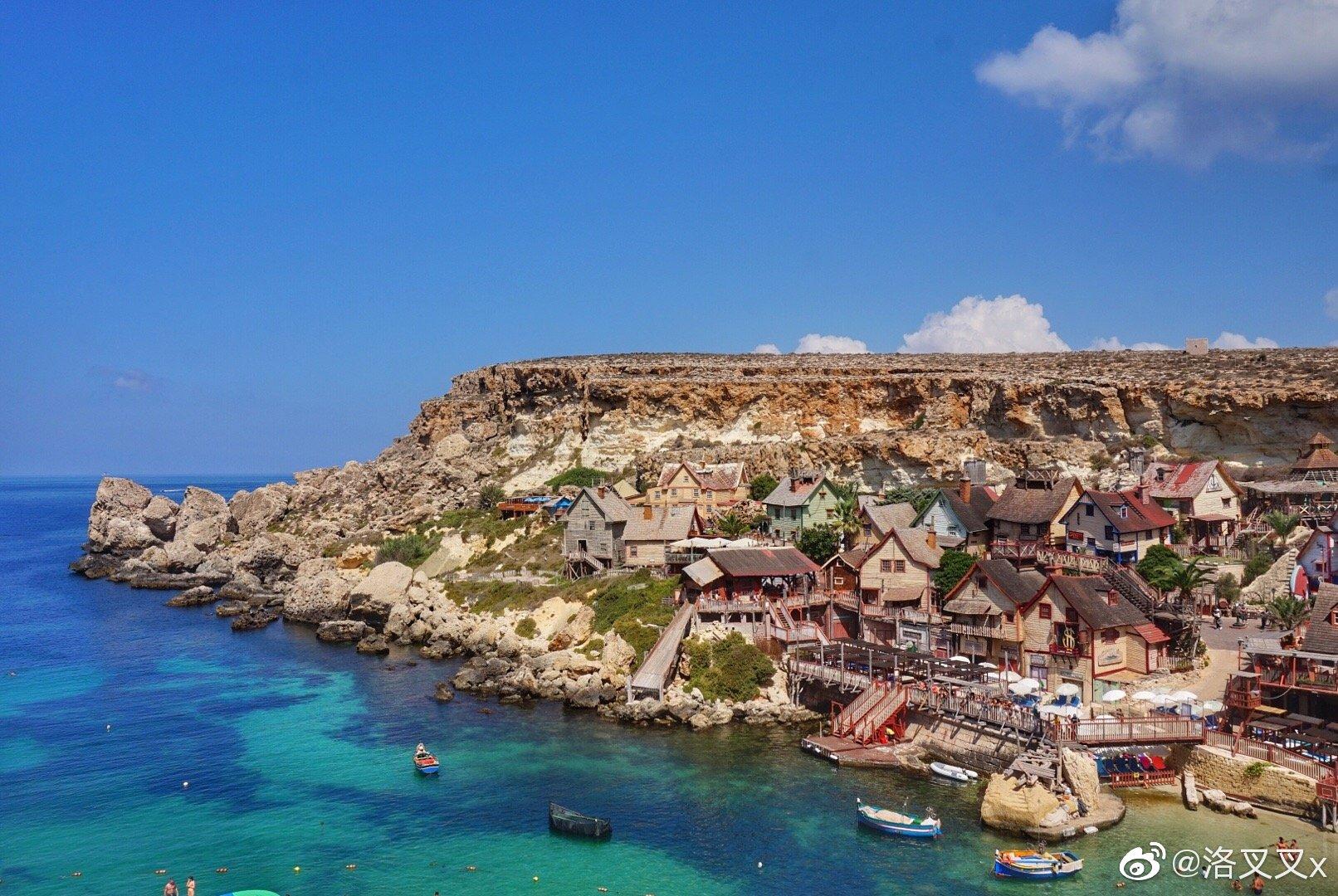 马耳他 置身在大力水手村的动画世界迷失在盗梦空间里的折