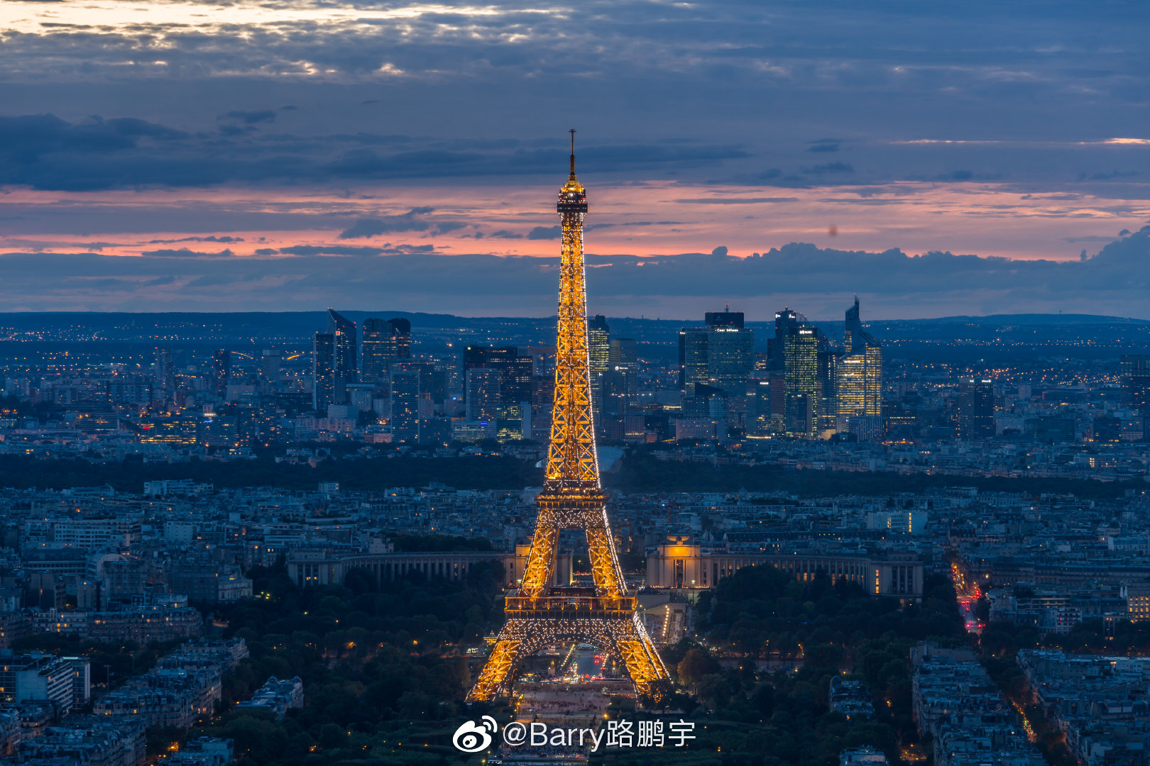 17-19年 拍不完的巴黎埃菲尔铁塔
