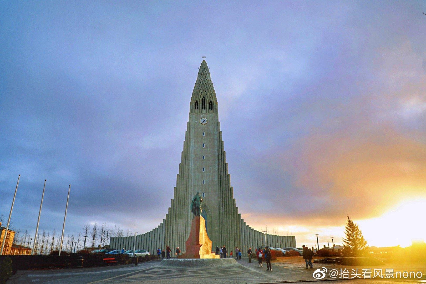 冰岛,哈尔格林姆斯大教堂,是首都雷克雅未克最高的建筑