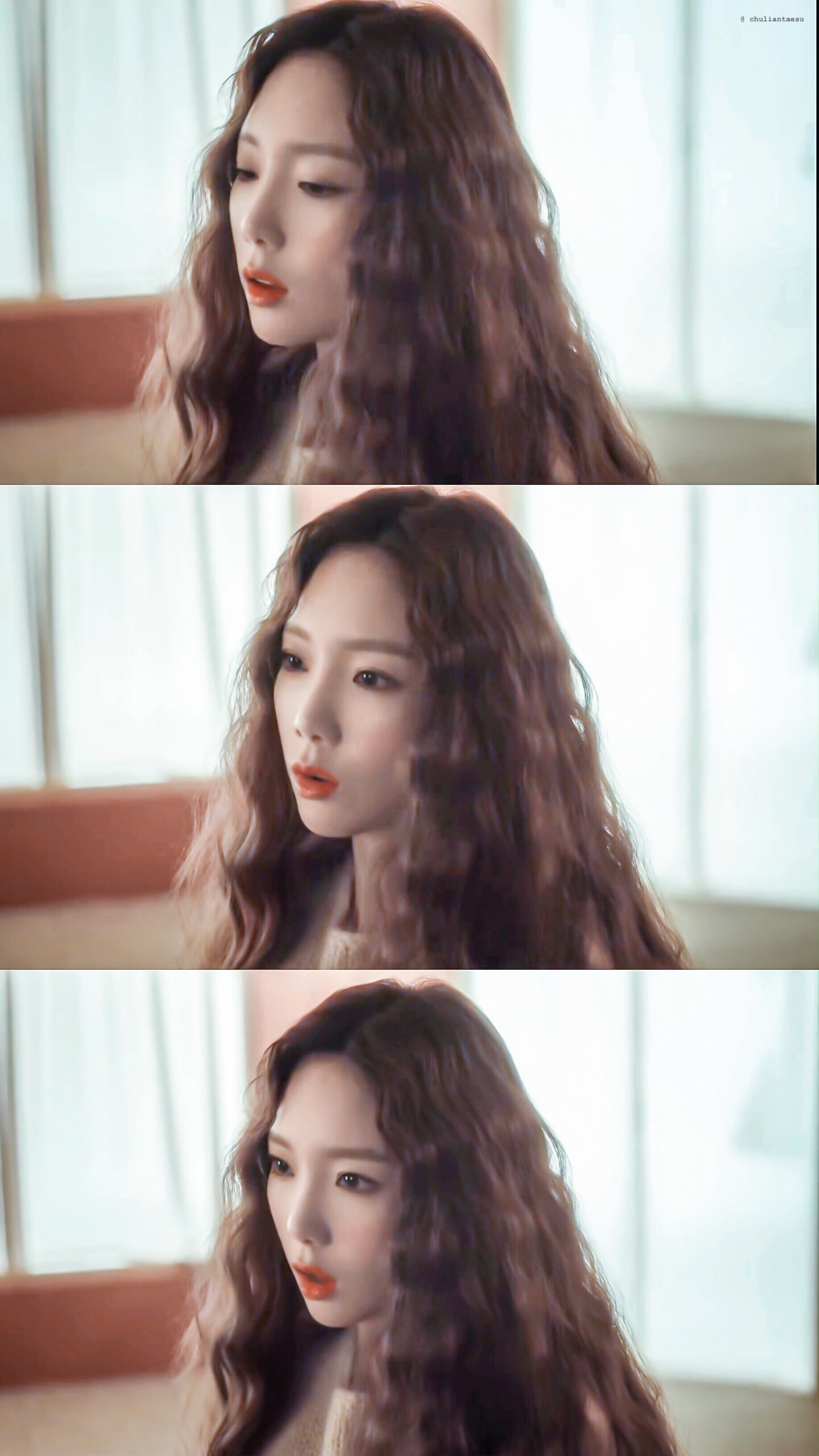 泰妍正规后续专主打曲《Dear Me》MV 修图12Pcr. purple_taeng_