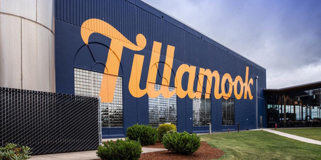 TILLAMOOK 俄勒冈乳制品 logo设计及vi视觉设计欣赏