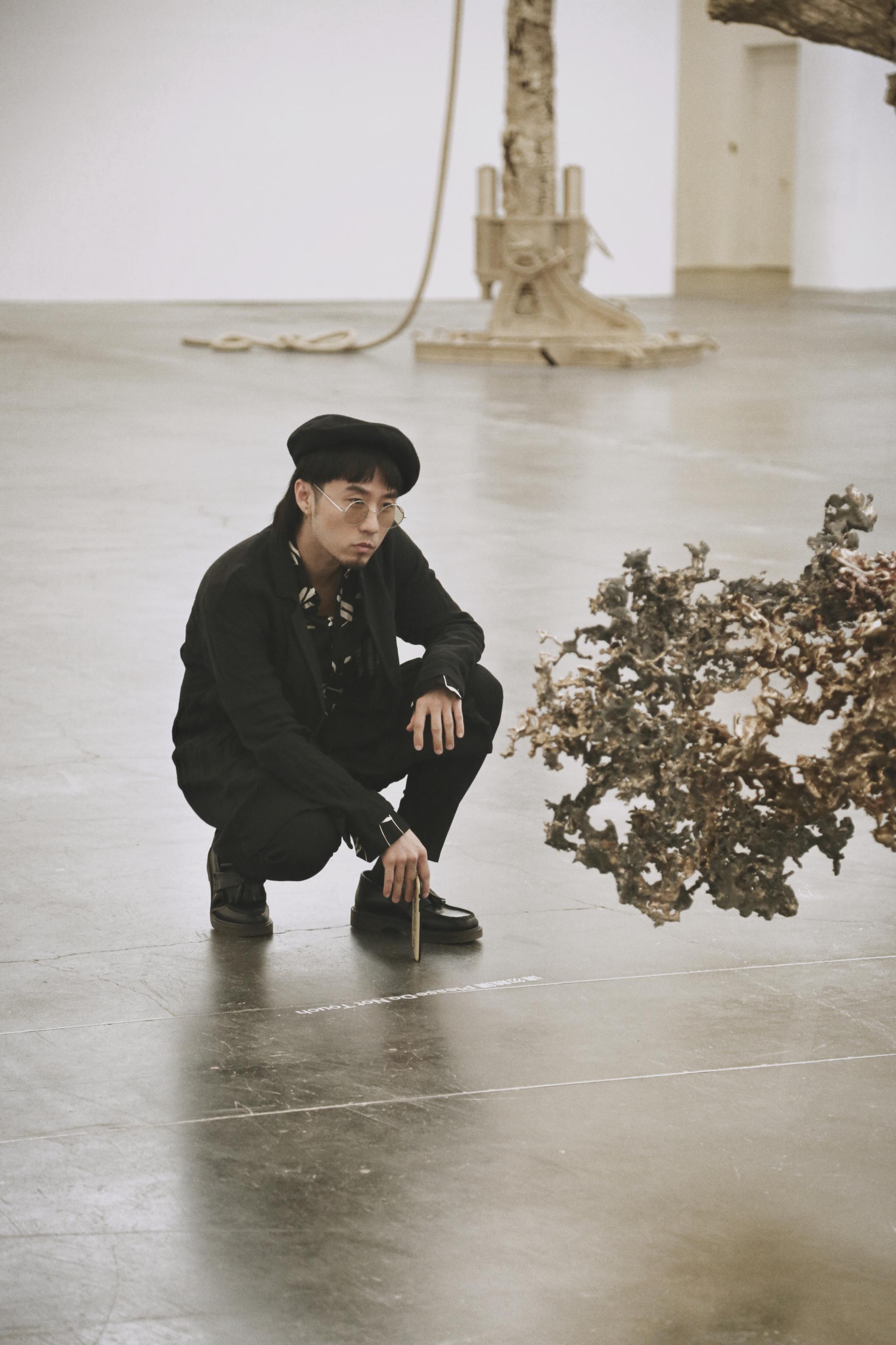 大学毕业后就很少有时间看展 这次有幸参观艺术大师马修·巴尼的展览