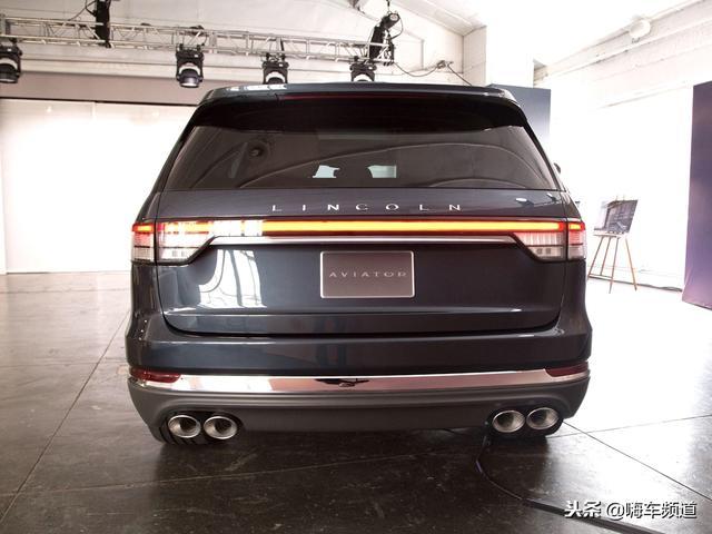 林肯飞行家Aviator洛杉矶车展全球首发,预计2019年在国内上市