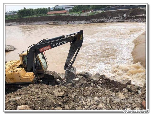 青州弥河镇强化措施 防范次生灾害发生