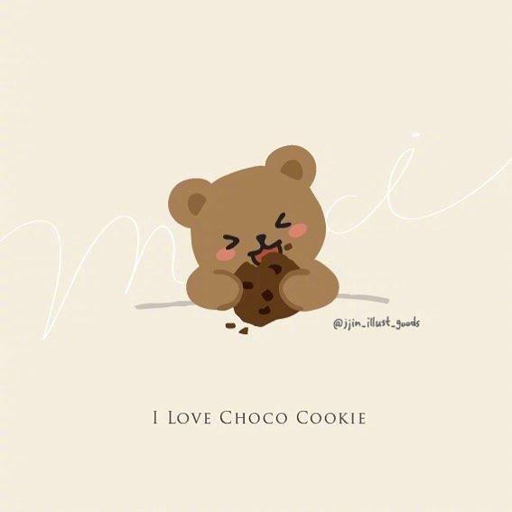小熊的懒散生活插画作者:jjin_illust_goods