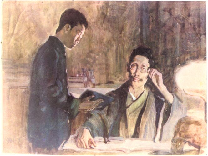 中国现代文学作品名句欣赏