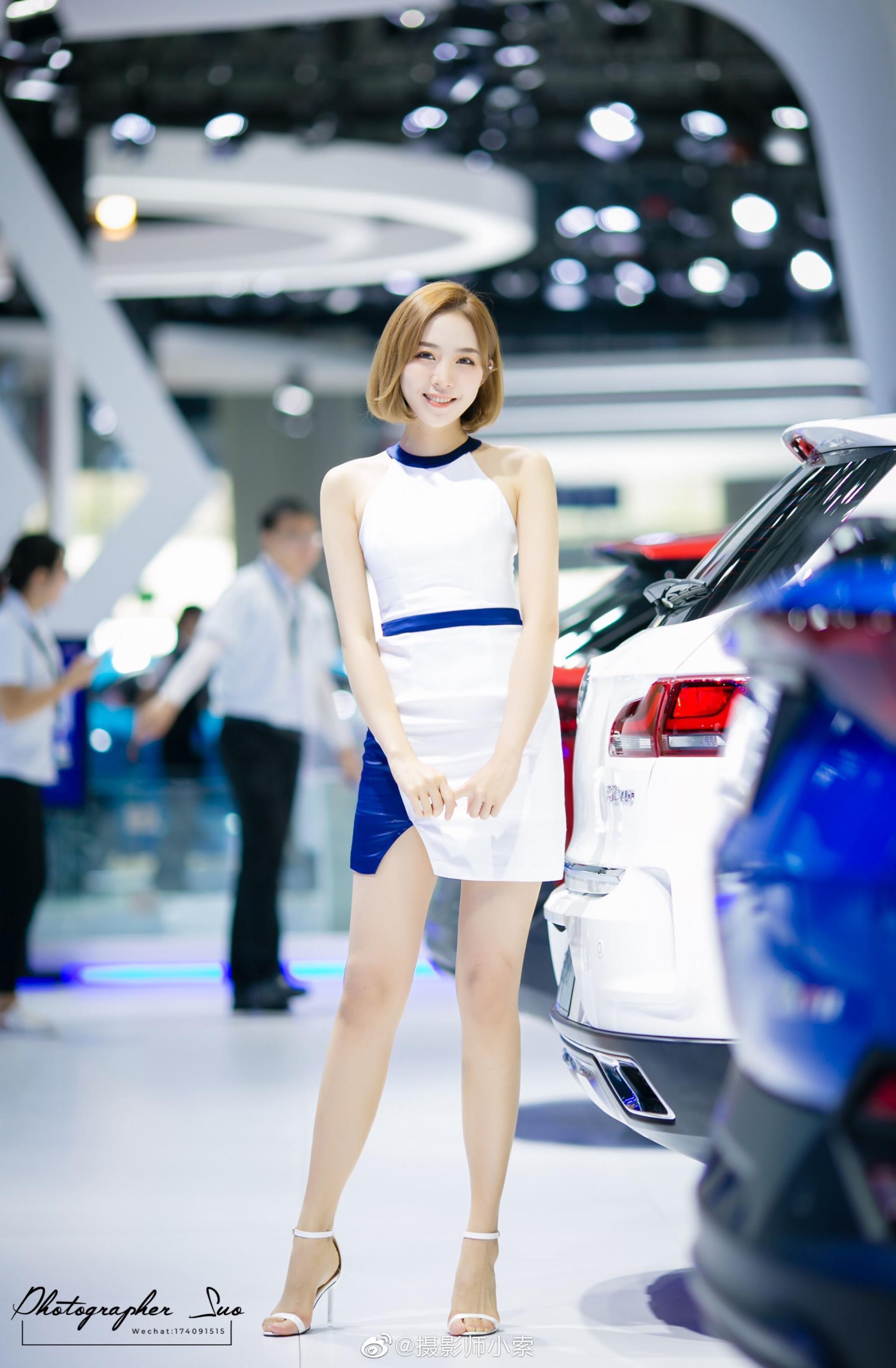 2019长春车展  模特 @威威张_   CR@摄影师小索