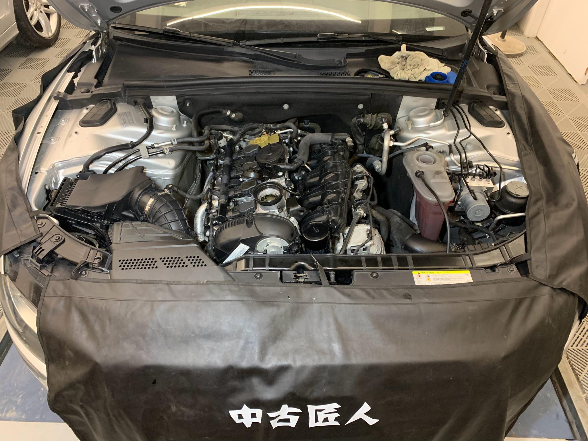 奥迪A5整修安排上,车型虽然已经不是最新款,但能用相对实惠的价格