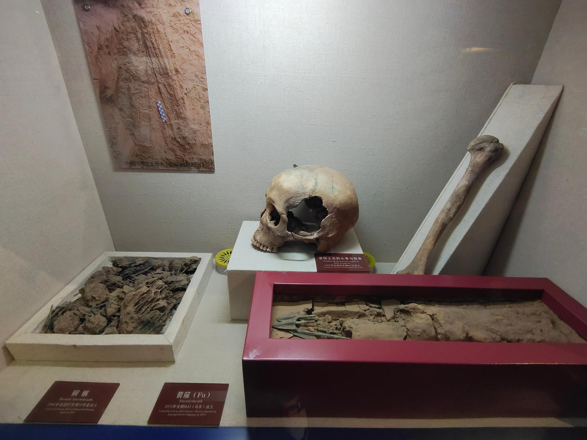 殷墟 ⑥。3000多年前,中国人对于战斗力的解读就体现在武器研究上
