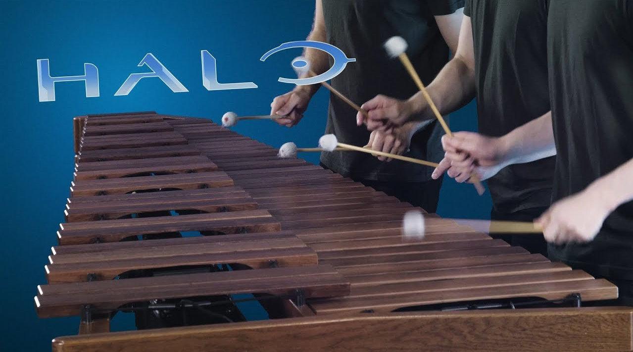 马林巴琴版《光晕》主题曲 (YouTube