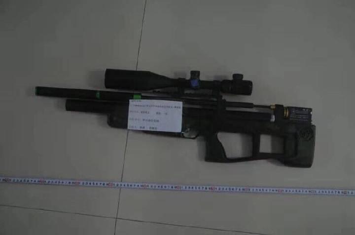 罗山警方成功破获一起非法买卖、制造枪支弹药案