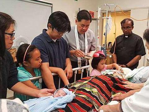 生完第三胎后女子被发现脑瘤, 坚持11天后全家人忍痛告别