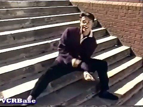 小王子,你脚上装上弹簧了吗?不愧是劲歌热舞的鼻祖啊