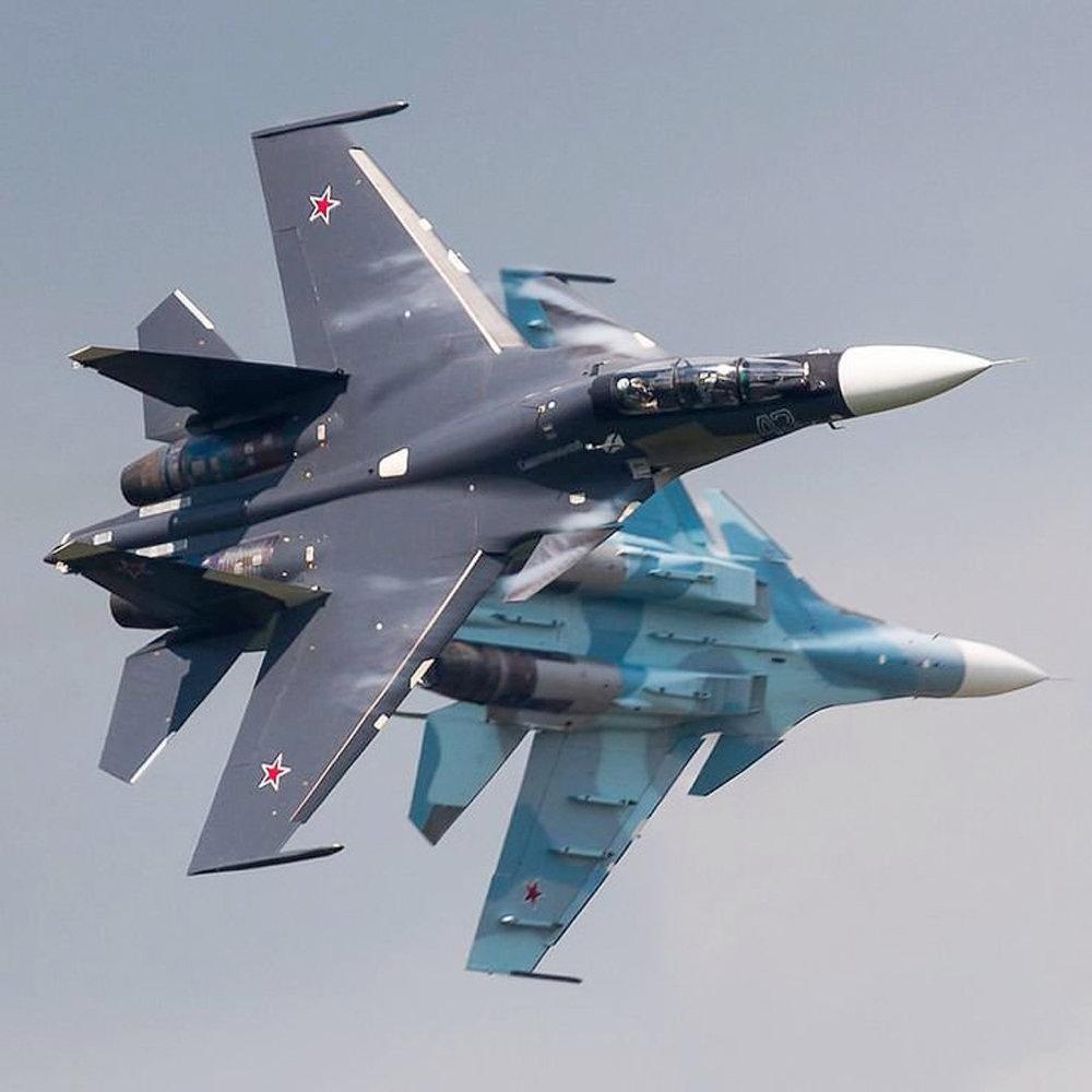 俄海航苏-30SM这涂装思路不错
