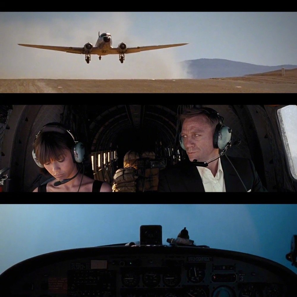 飞行员詹姆斯邦德已就位…