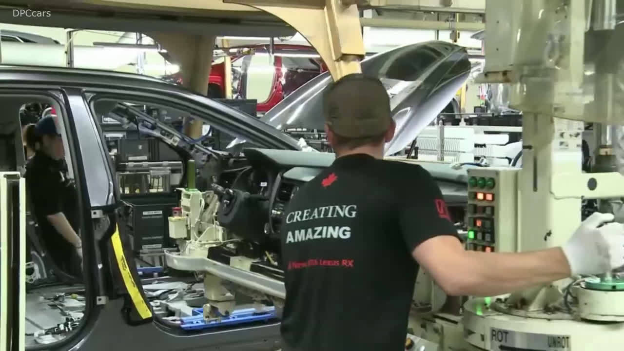 视频:丰田加拿大将投产雷克萨斯NX