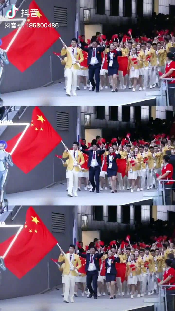 俄罗斯喀山第45届世界技能大赛,中国队出来的那一刻全场沸腾!
