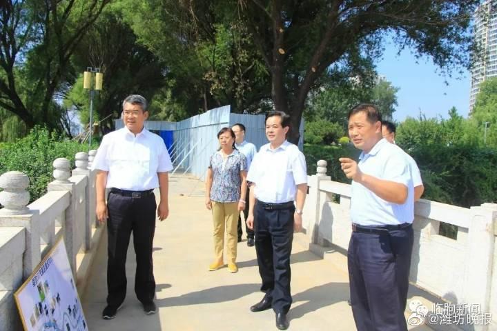 市人大常委会副主任顾建华来临朐县调研