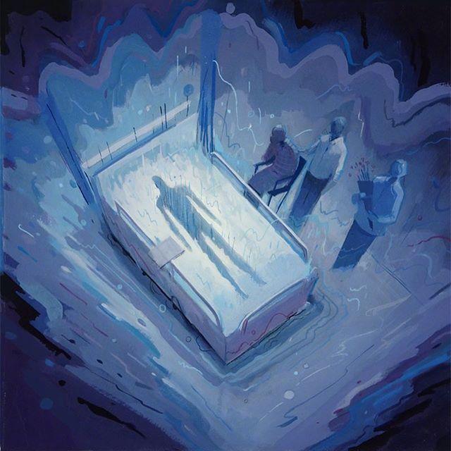 冷夜 • 奥克兰插画家Dean Stuart