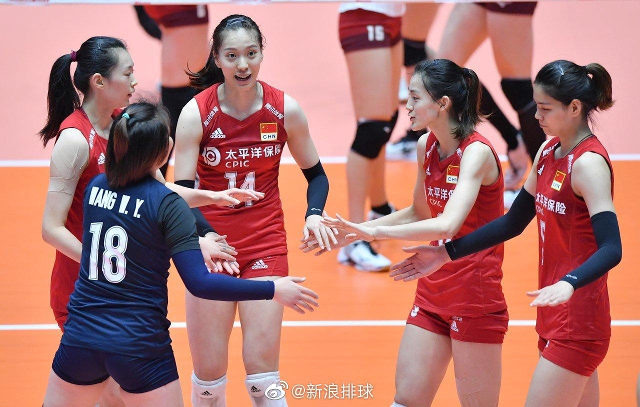 对阵年轻选手主打的卫冕冠军日本