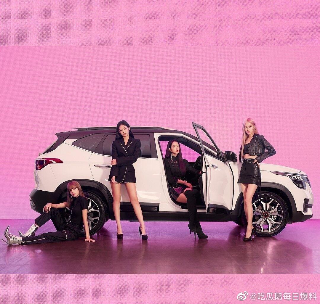 来品品BLACKPINK最新大片, 金智秀、jennie、朴彩英、lisa