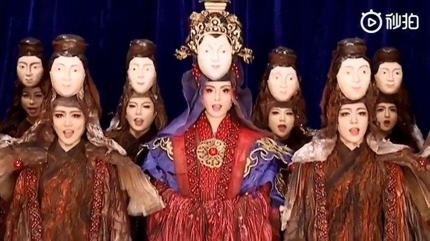 平潭映像  杨丽萍  一种完美契合的应用艺术 ,看的我惊掉下巴
