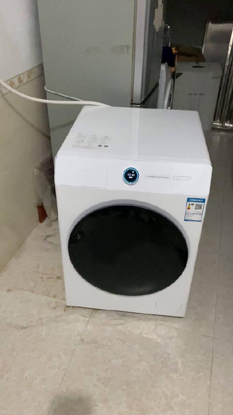 万能的网友,米家这个洗烘一体机Pro甩干的时候会乱跳