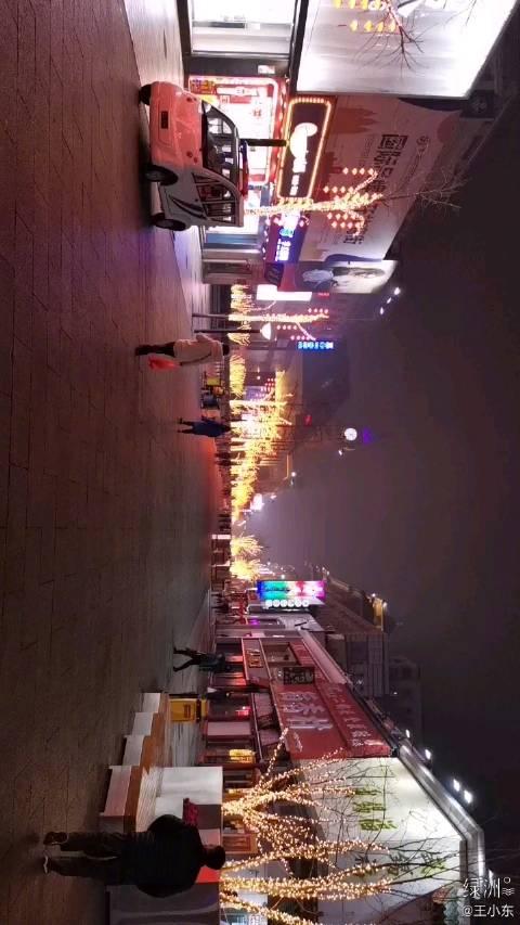 王府井步行街,正月初二