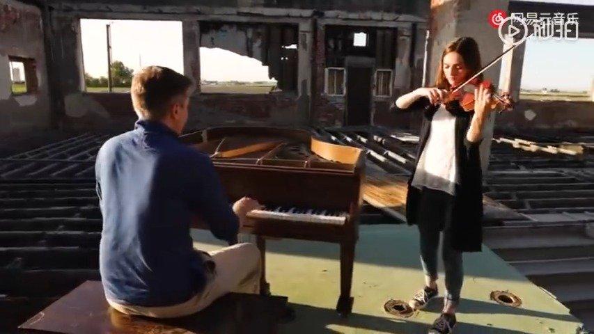 钢琴+小提琴二重奏莫扎特《Twinkle Twinkle