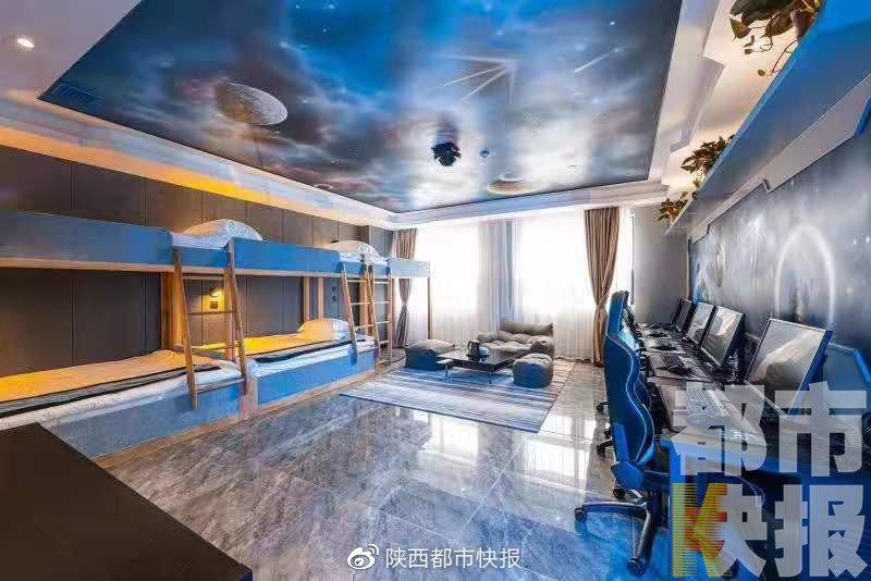 电竞酒店热潮兴起 打游戏也有专属酒店?