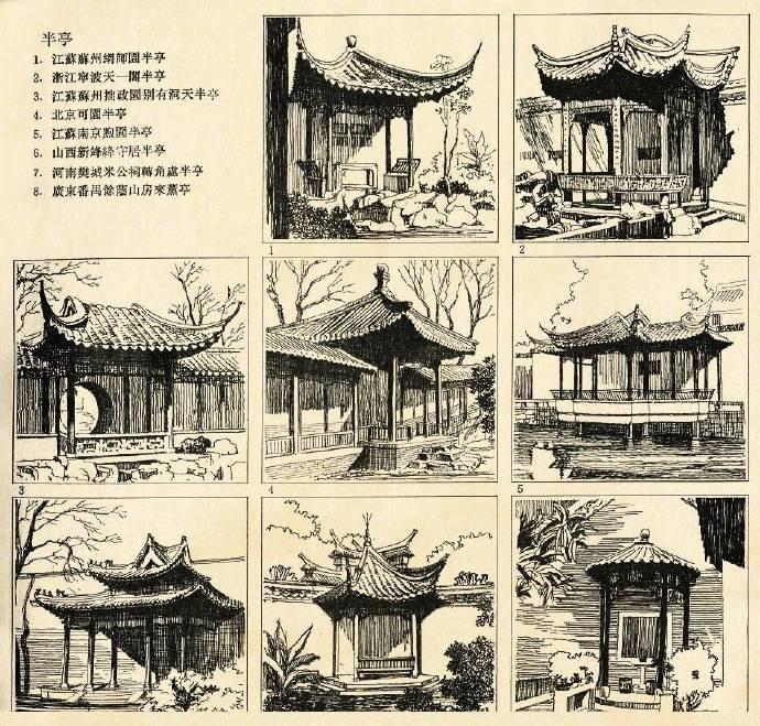 中国建筑美学,美轮美奂的~