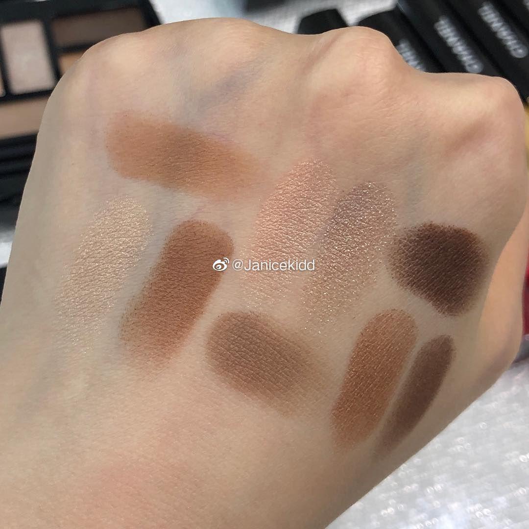 CHANEL 2019年夏季彩妆,9色眼影盘,四色眼影色号: 348 和 344