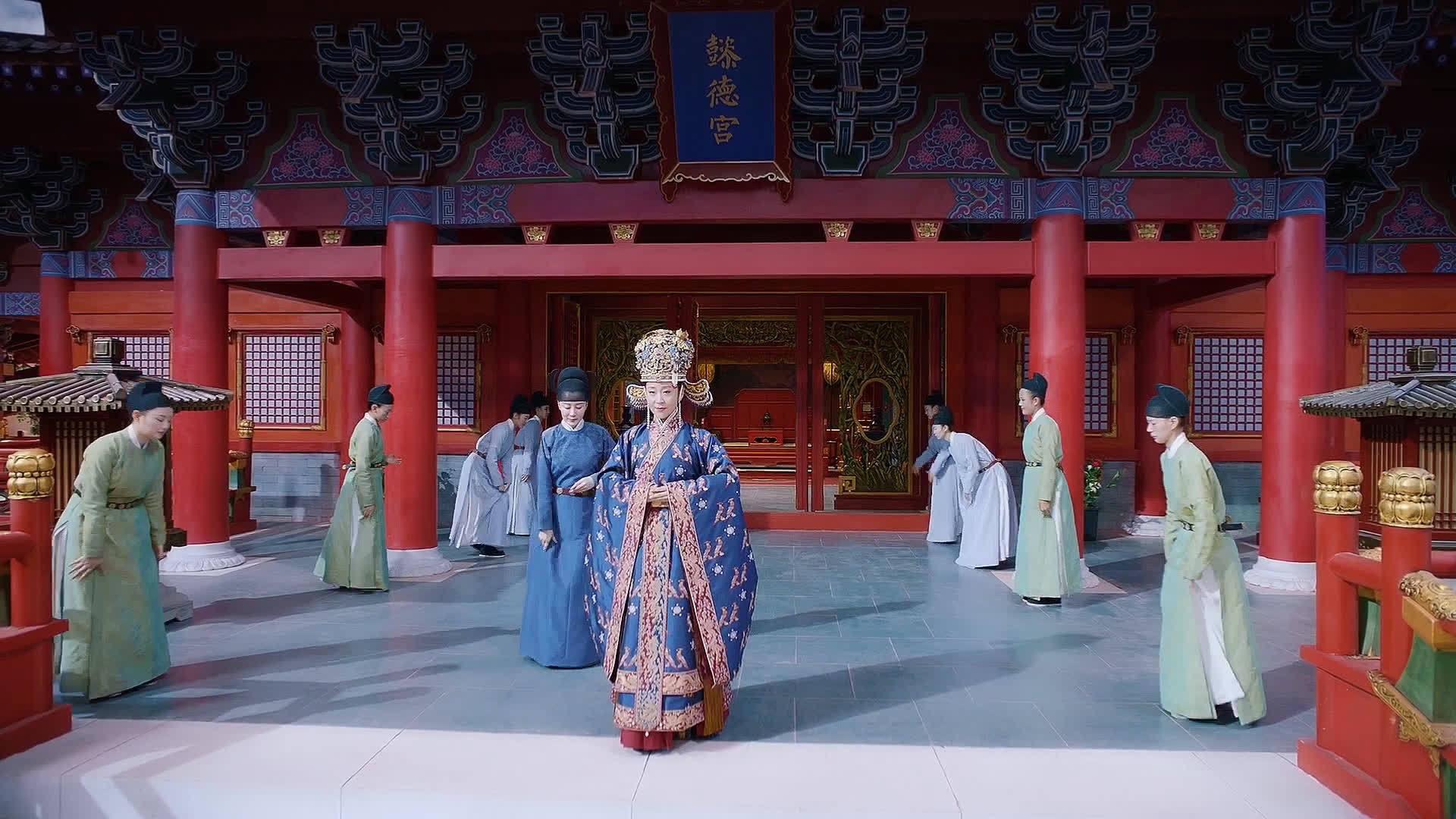 赵贵妃在宫中小心翼翼活了这么多年,今晚终于升职成功