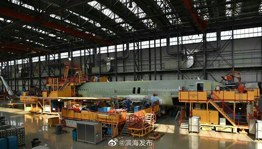 空客天津A320总装线实现月产6架