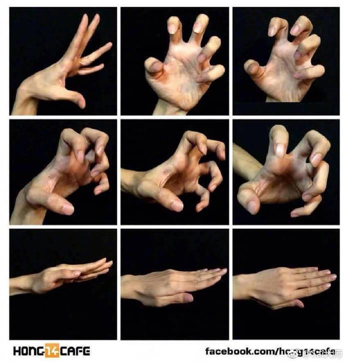 多种手部姿势绘画练习素材。速度收藏。@Sai大学堂