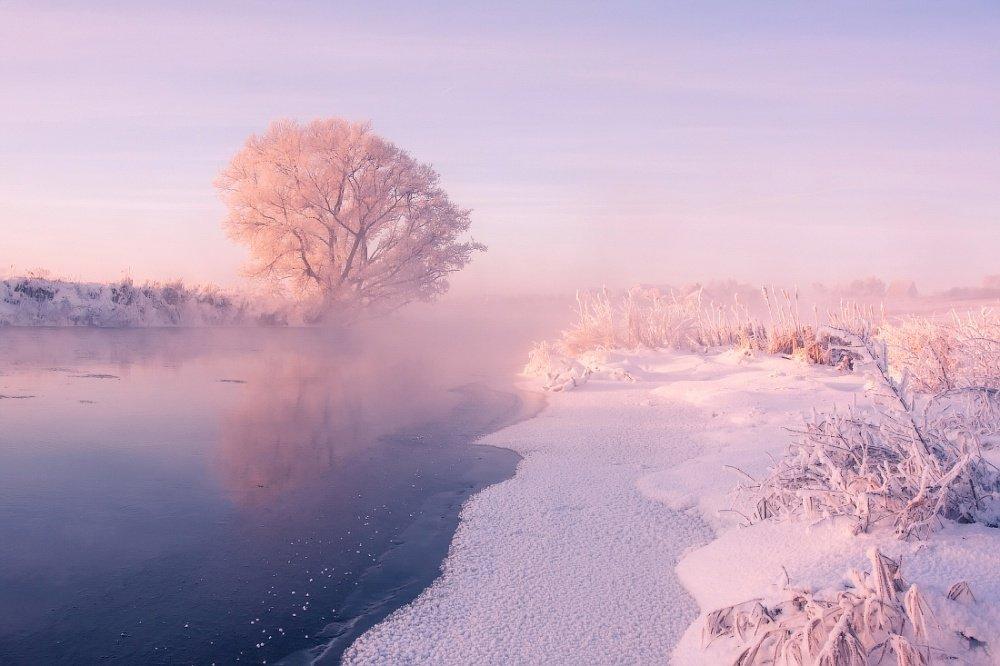 冬日之美白俄罗斯摄影师 Alexey Ugalnikov 完美地传达了冬季景观的