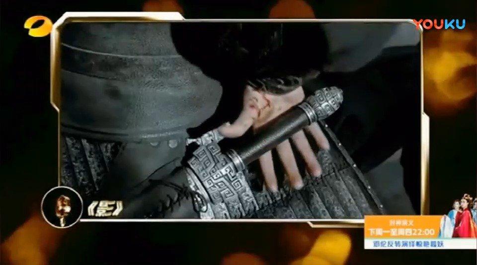 """电影《影》中 邓超饰演境州和子虞 最后这一段自己""""杀""""自己 简直演"""