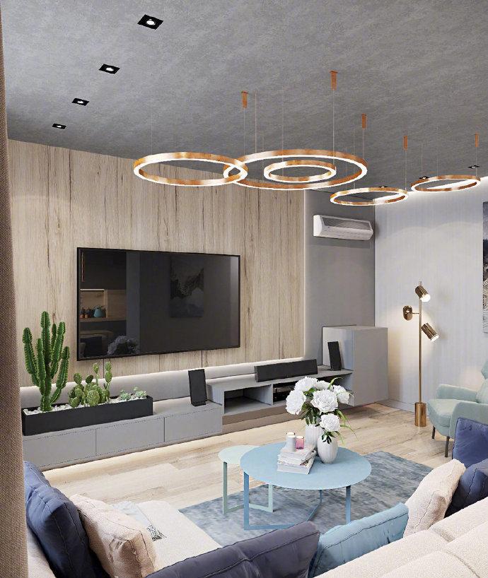 基辅120㎡精致公寓设计,高雅时尚的现代住宅,但让人越看越喜欢!