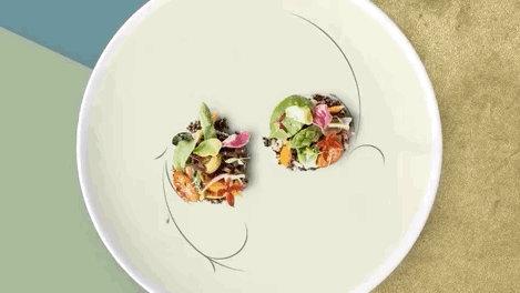 松下将「iPad」做成了餐盘,想让食物看起来更美味